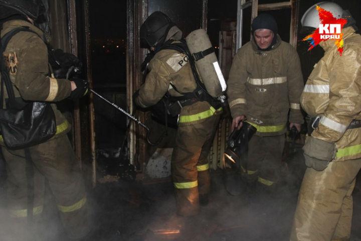 ВКолпино назаводе «Военохот» произошел интенсивный пожар