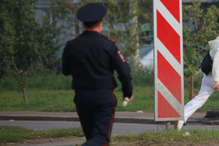 Тамбовчанин пойдет под суд зато, что сделал подсечку полицейскому