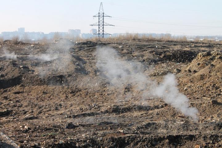 Нижегородские активисты ОНФ обнаружили новые очаги возгорания наШуваловской свалке