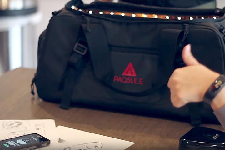 ВСША создали спортивную сумку, убивающую запах