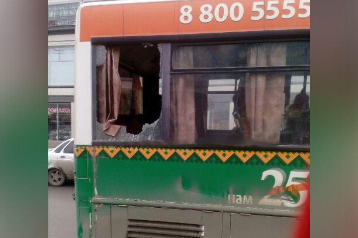Вцентре Саратова столкнулись два пассажирских автобуса