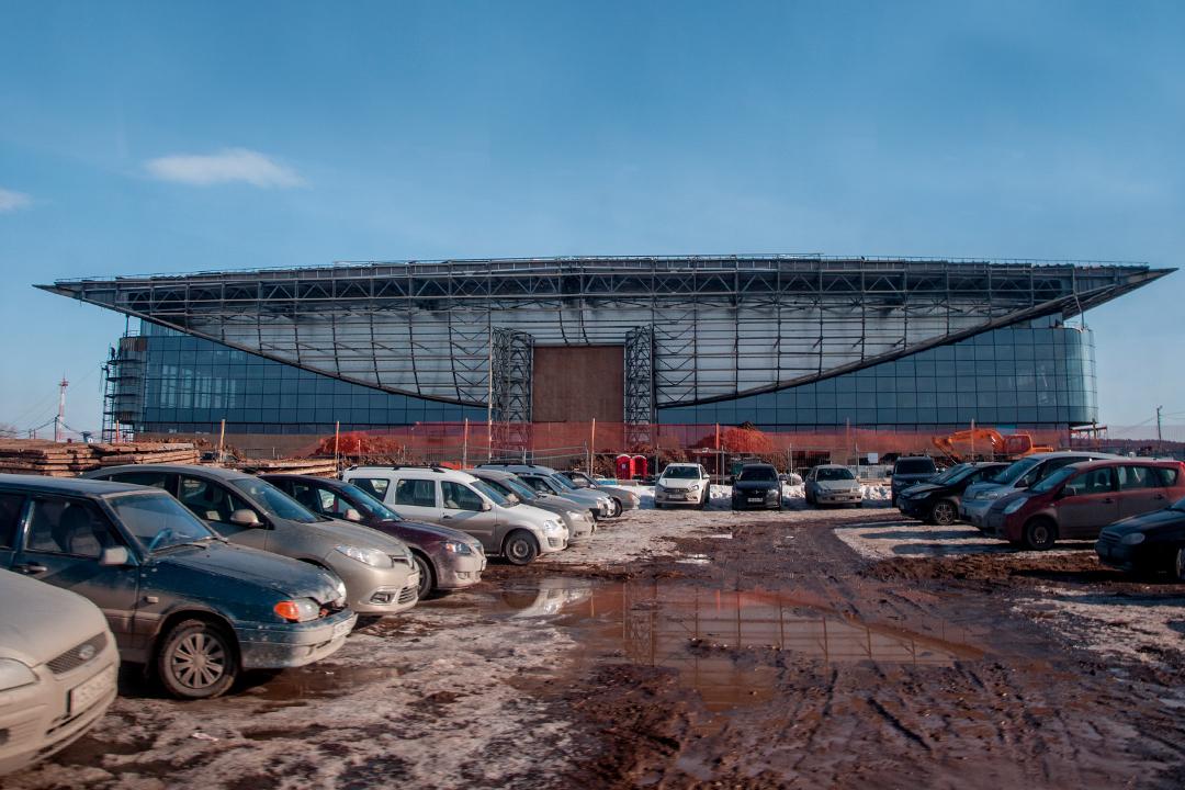 Новый терминал пермского аэропорта готов на65%