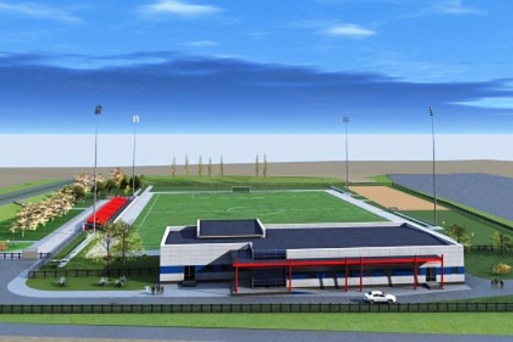 На55% выполнена реконструкция футбольной площадки ВГАФК