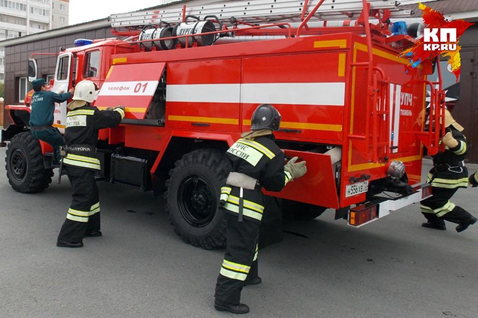 Впоселке Завидово напожаре погибли два человека