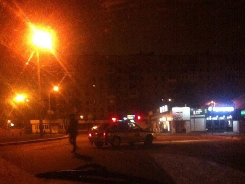 Нетрезвый воронежец, уходя отпогони, сбил полицейского
