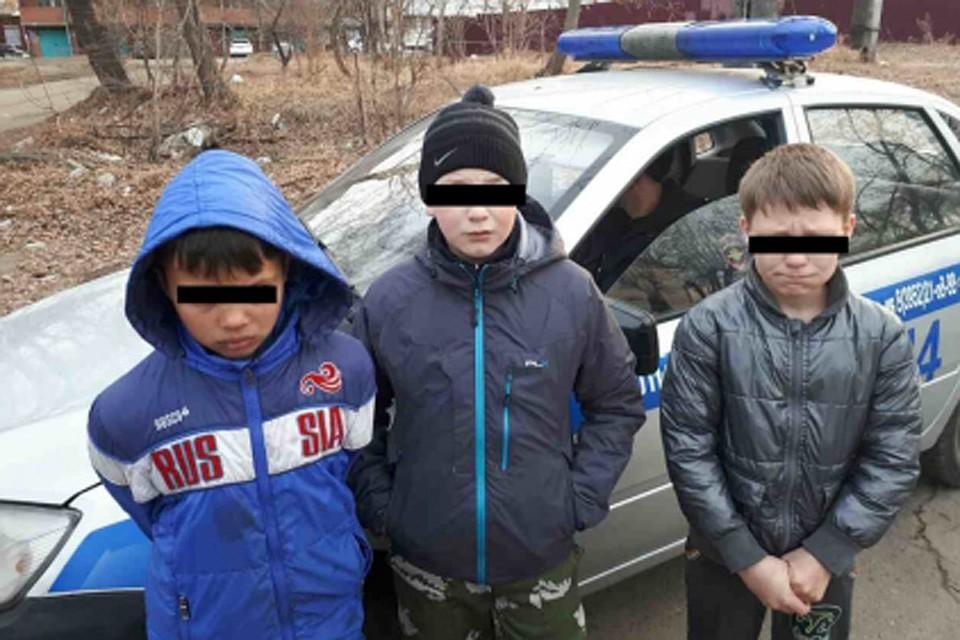 ВИркутске пожарные задержали молодых поджигателей