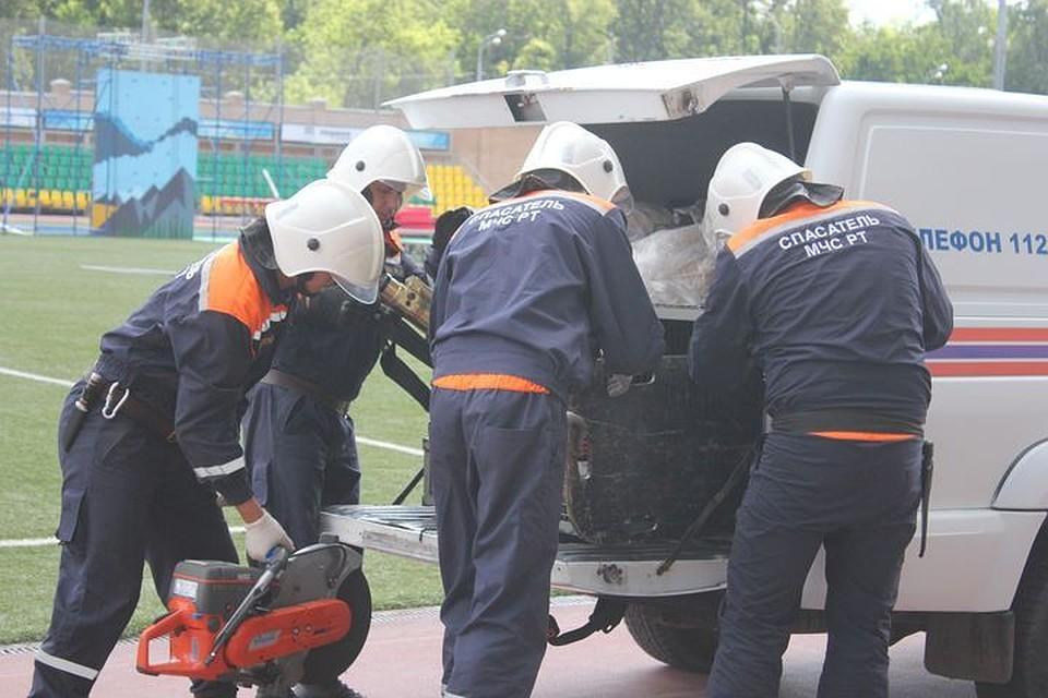 ВКазани прошли учения спасательных служб впреддверии Кубка Конфедераций