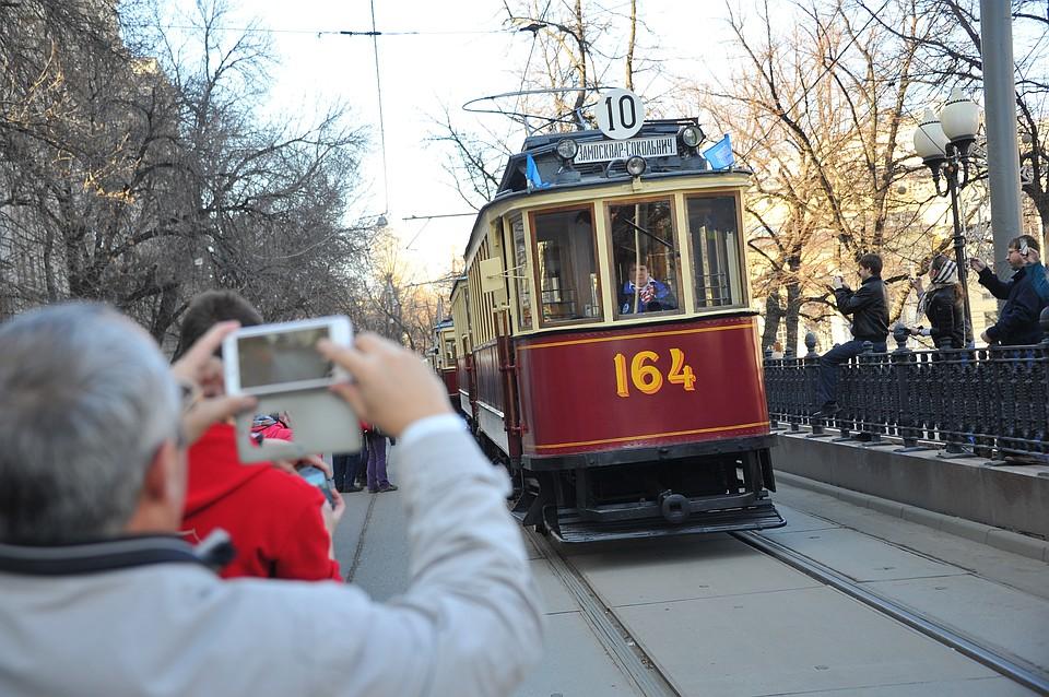 В российской столице открывается традиционный Парад трамваев