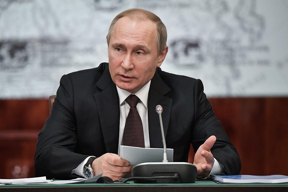 Приходится все время смотреть, чтобы нас никто несъел— Путин