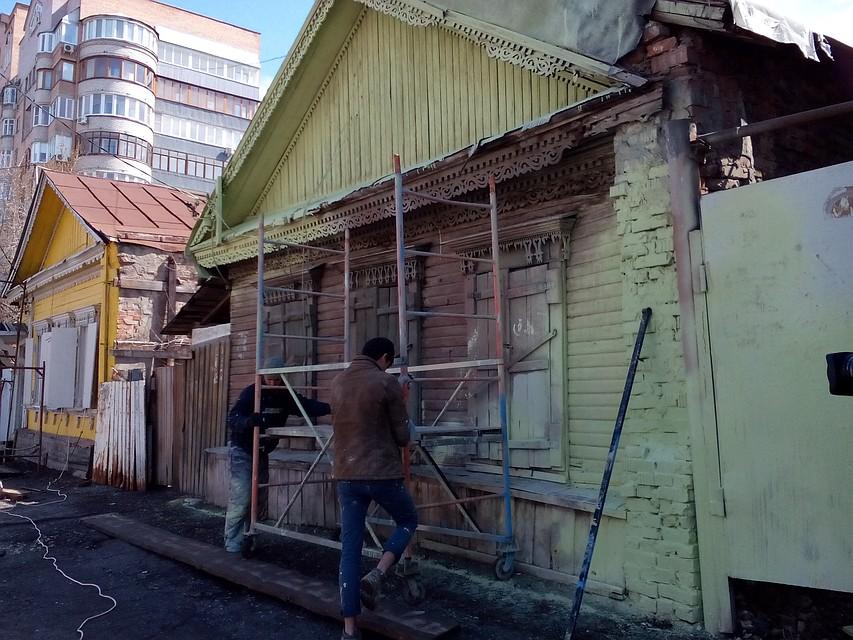 ВСамаре неприглядные дома закроют заборами кчемпионату мира