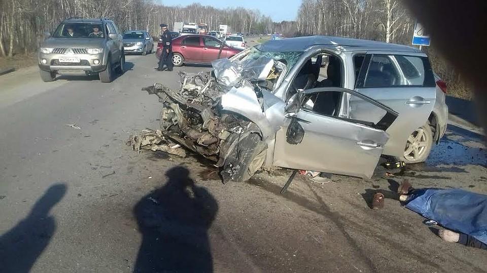 ВТюменской области погибли 2 водителя— Смерть навстречке