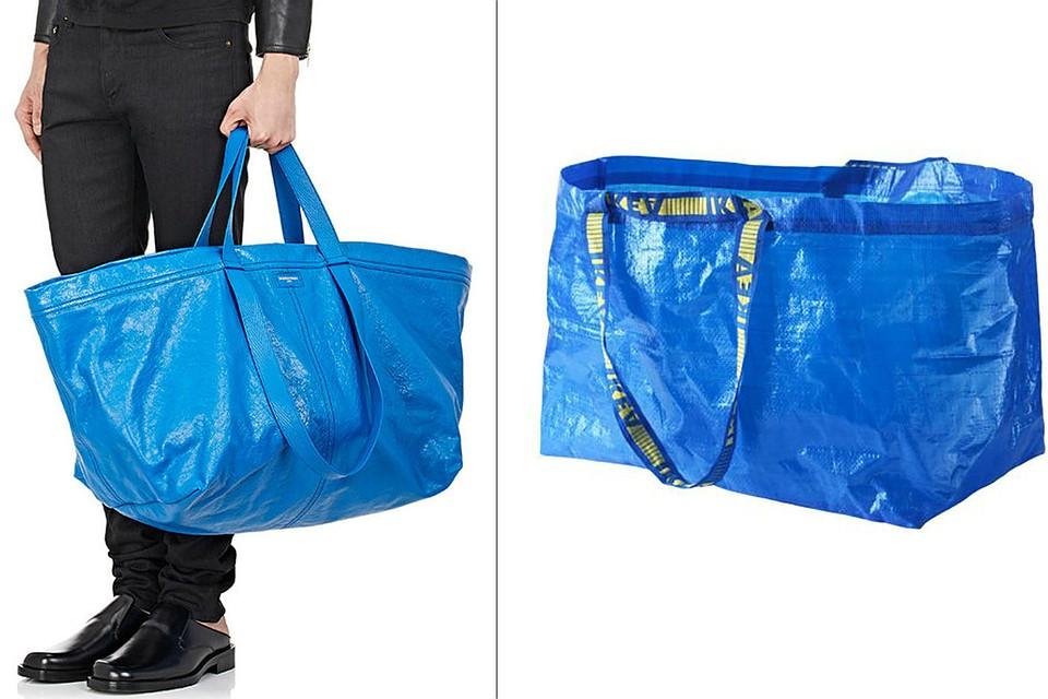 IKEA защитила синюю сумку отклона Balenciaga
