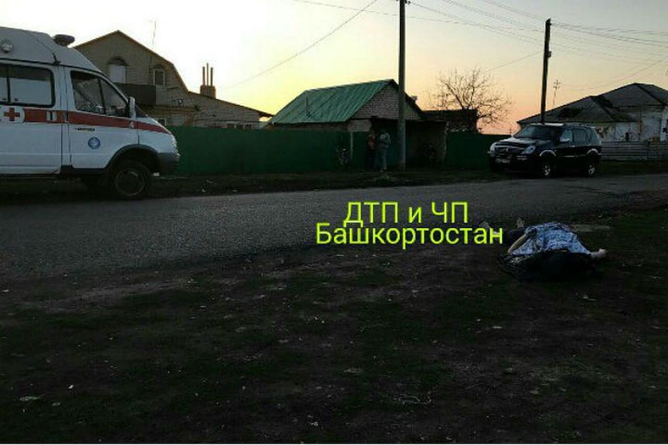 ВБашкирии шофёр насмерть сбил пешехода и исчез