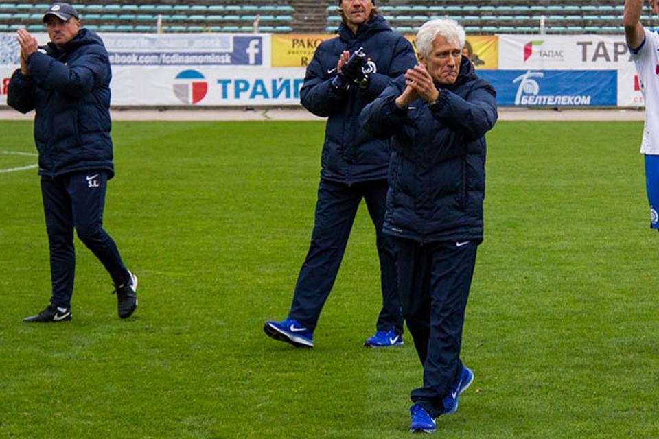 После поражения от«Городеи» Чиж-младший сократил основного тренера «Динамо-Минск» Боровского