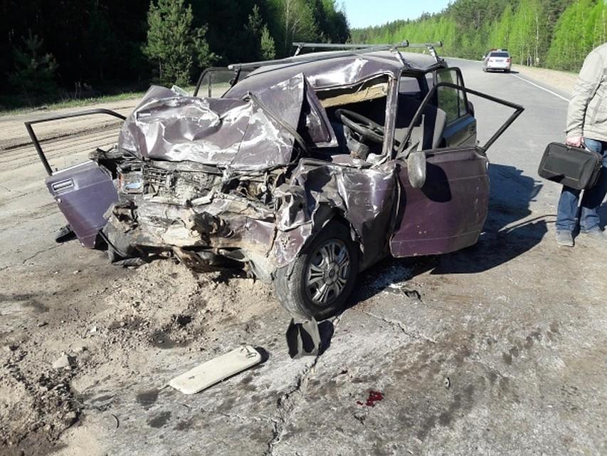 На автотрассе Рязань— Клепики случилось масштабное ДТП