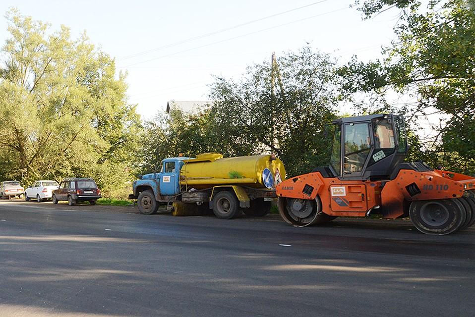 Смоленские дороги починят на5 млрд руб.