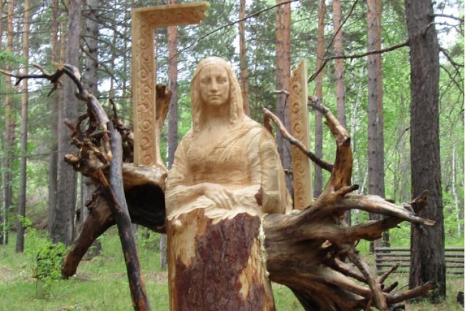 10мая под Ангарском стартует фестиваль деревянной скульптуры «Лукоморье-2017»