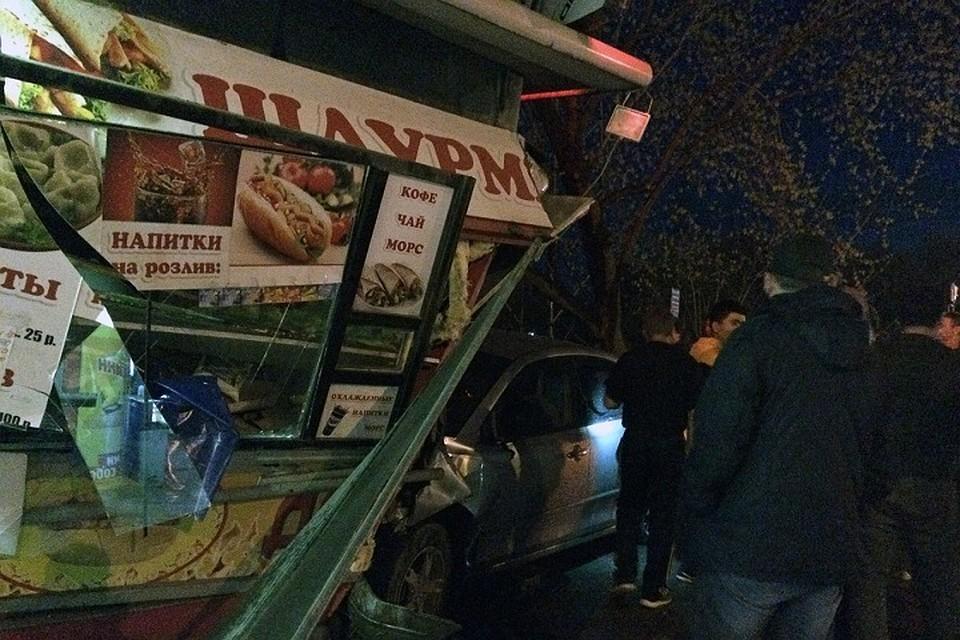 ВКировском районе Новосибирска столкнулись три автомобиля