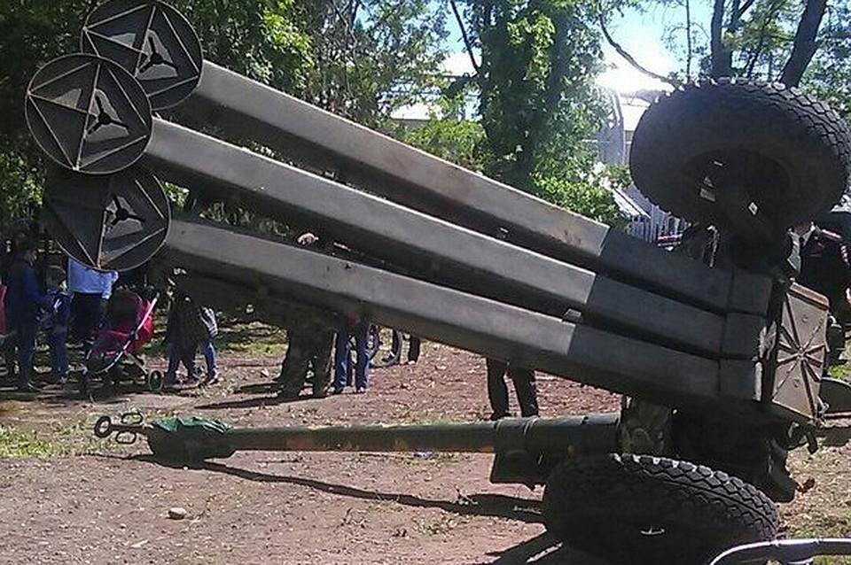 ВАдыгее набеременную женщину упало артиллерийское орудие