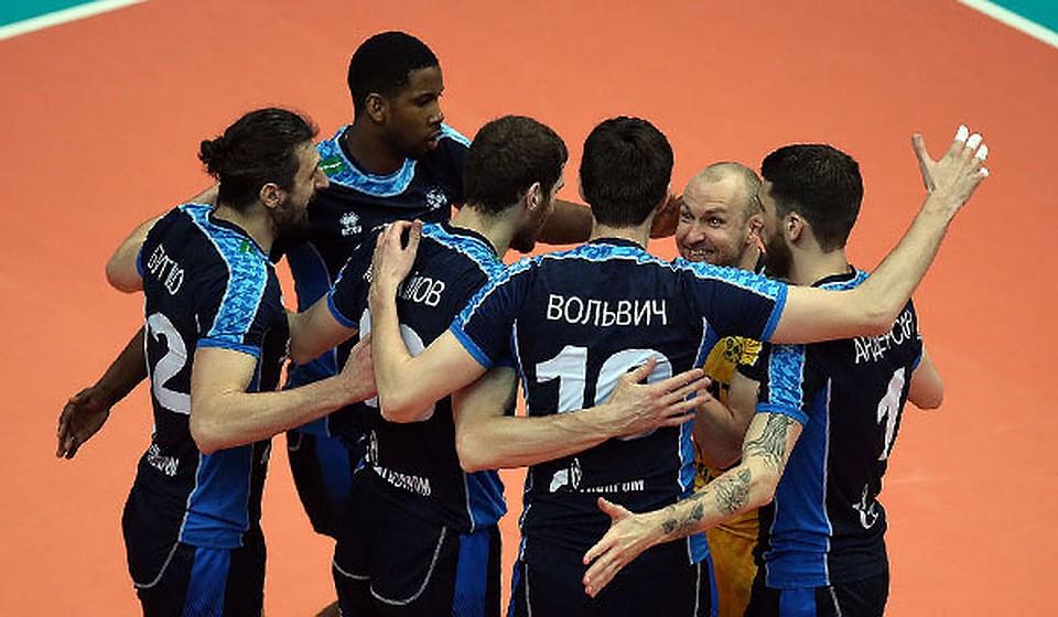 Волейболисты казанского «Зенита» вышли вфинал чемпионата Российской Федерации