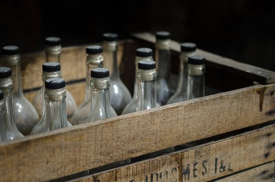 ВСамарской области изъяли нелегальный спирт  на3 млн руб.