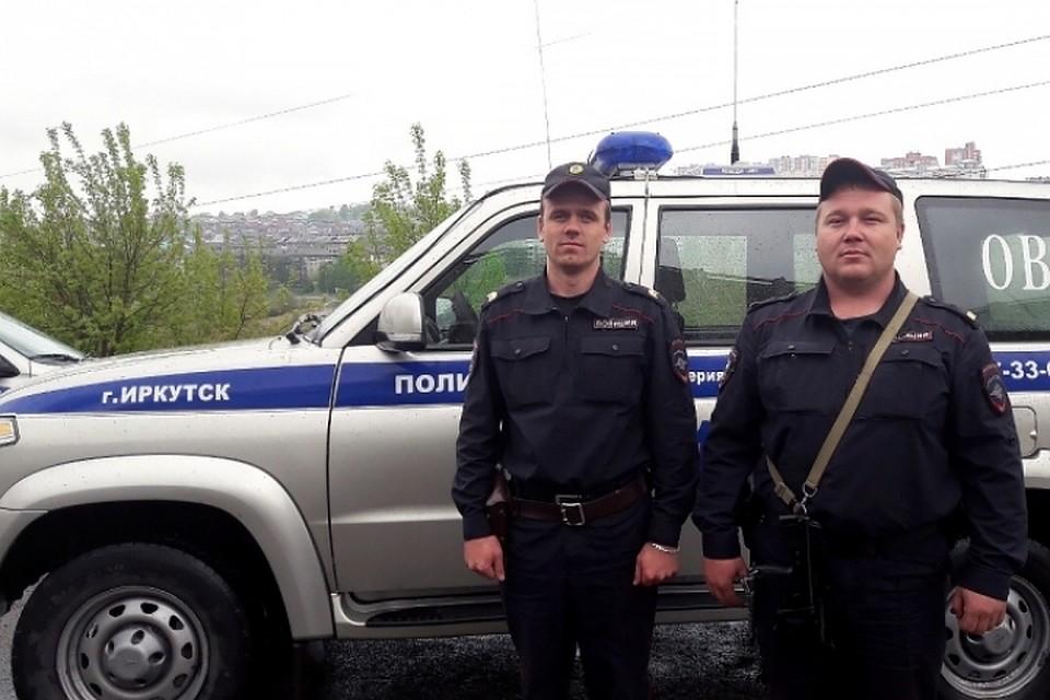 ВИркутске полицейские впроцессе погони задержали подозреваемого вкраже автомобильных аккамуляторных батарей