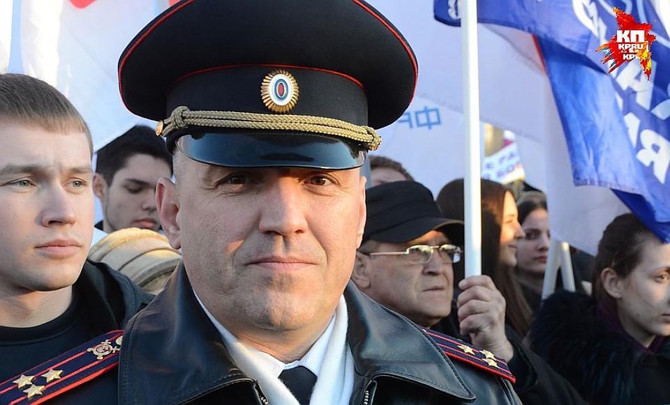 Руководителя управления МВД поВолгограду переводят вКалининград