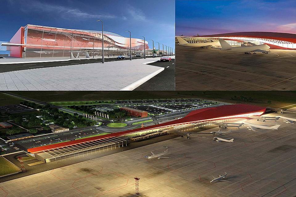 ВЧелябинске строительство нового терминала ваэропорту начнется в будущем году