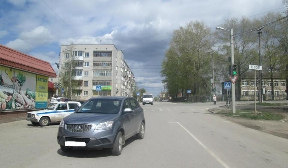 ВПермском крае шофёр иномарки сбил 10-летнюю девочку