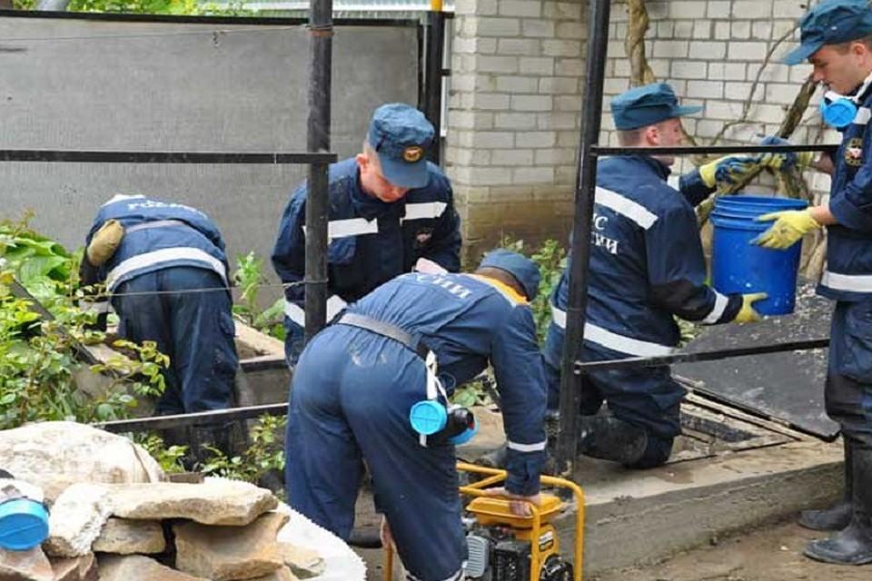 НаСтаврополье паводковая вода сошла уже в 2-х городах