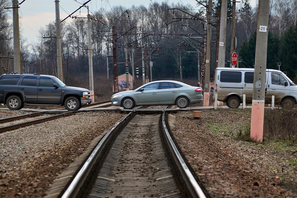 Железнодорожники напомнят водителям Останкина о неопасной езде