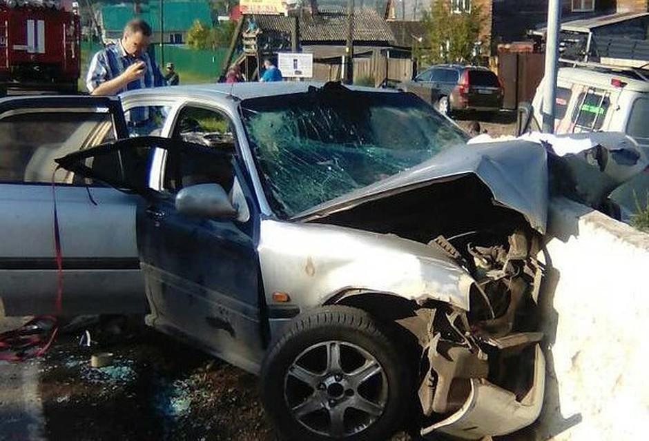 Семиклассник устроил ДТП, вкотором погибли два человека