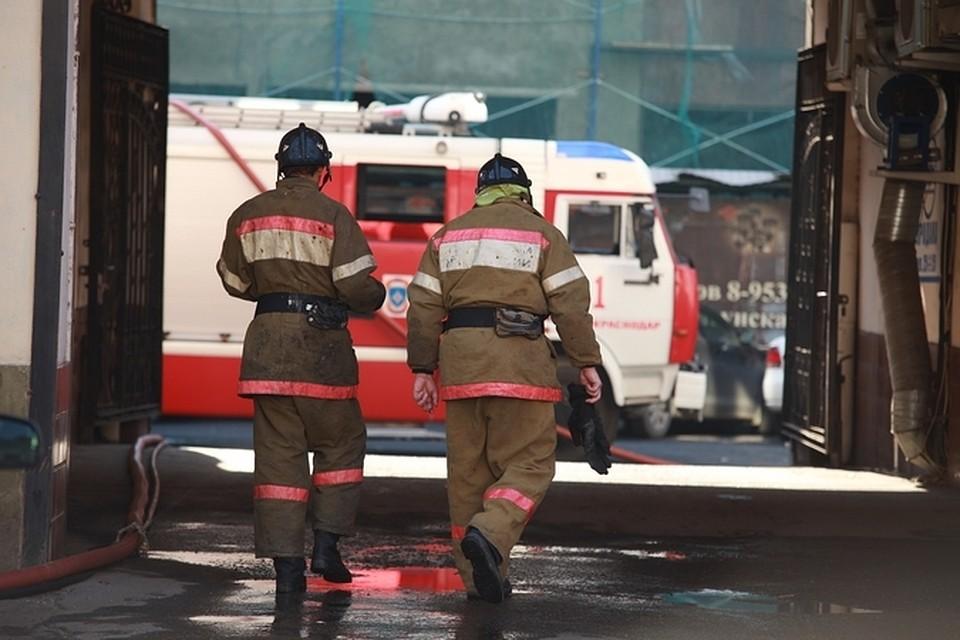 ВГорячем Ключе произошел пожар вмногоэтажке