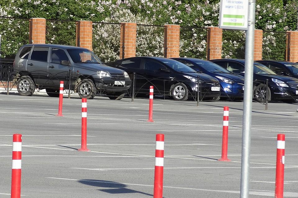 Стоимость тюменских платных парковок ссегодняшнего дня