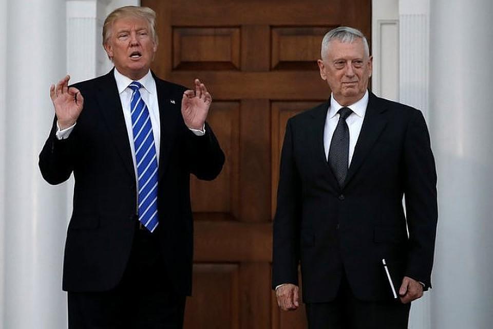 Трамп наделил Мэттиса полномочиями поопределению численности военных вАфганистане