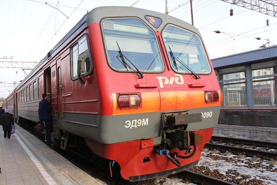 ВВолгограде пригородная электричка будет останавливаться наМамаевом Кургане