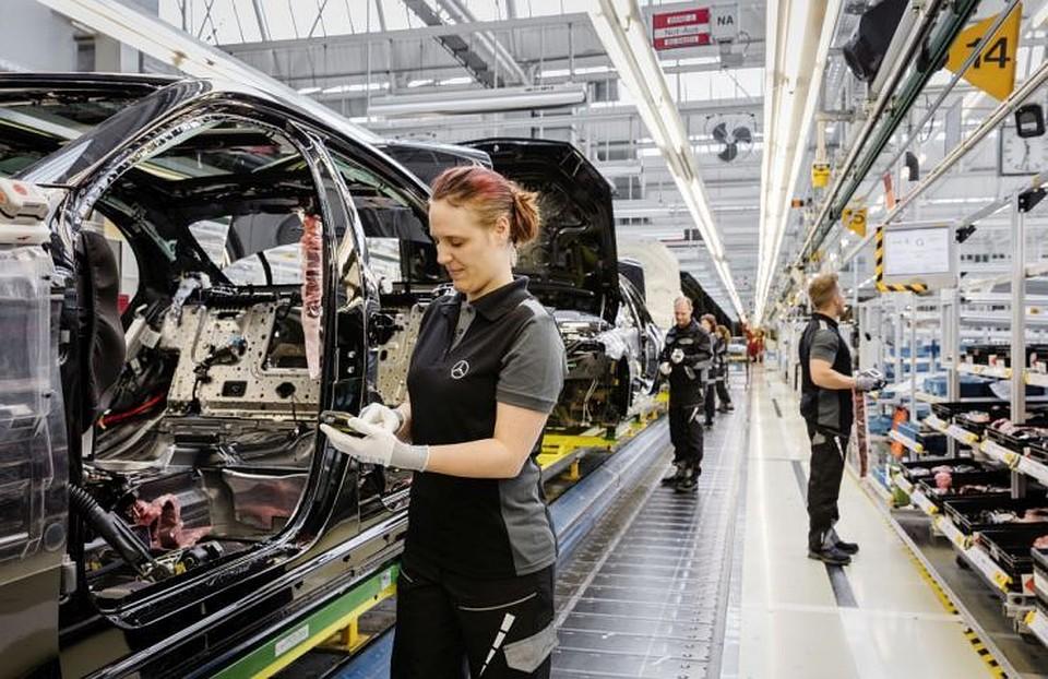 Завод легковых Mercedes начнут строить в Российской Федерации