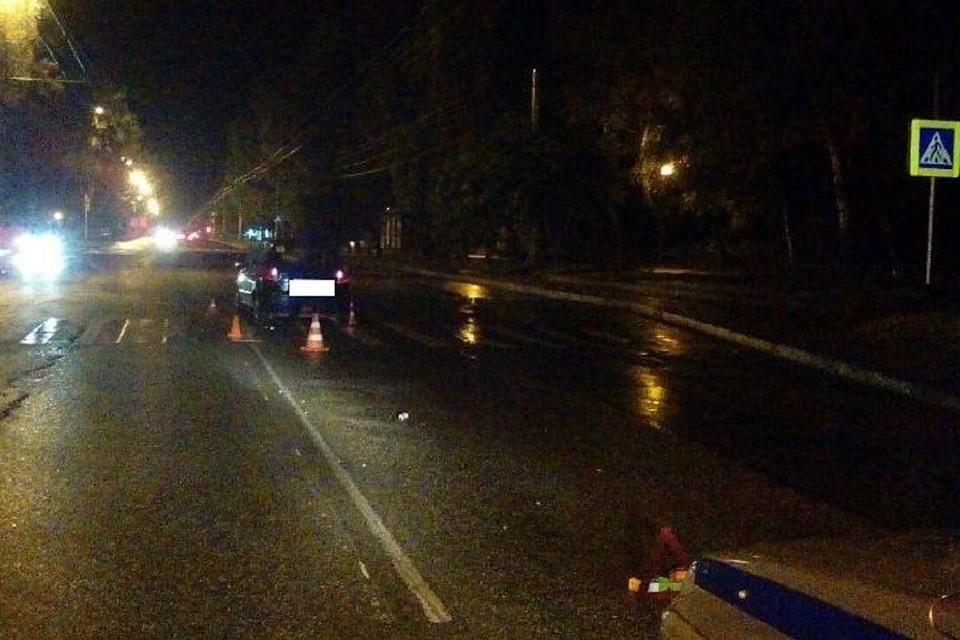 26-летнего молодого человека напешеходном переходе вСтаврополе сбила иностранная машина