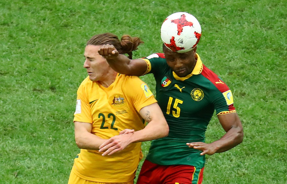 Камерун иАвстралия сыграли вничью вматче Кубка конфедераций