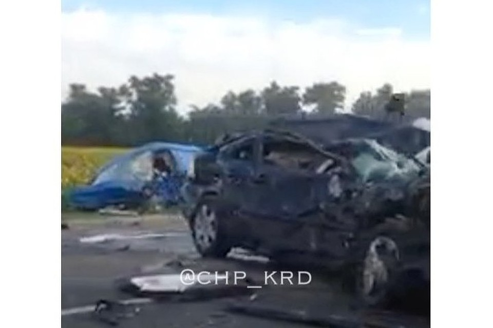 Трое погибли вДТП с«Газелью» наКубани