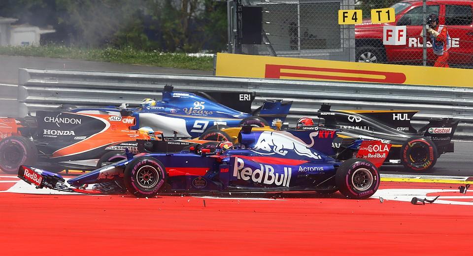 Боттас одержал победу Гран-при Австрии, Квят— 16-й