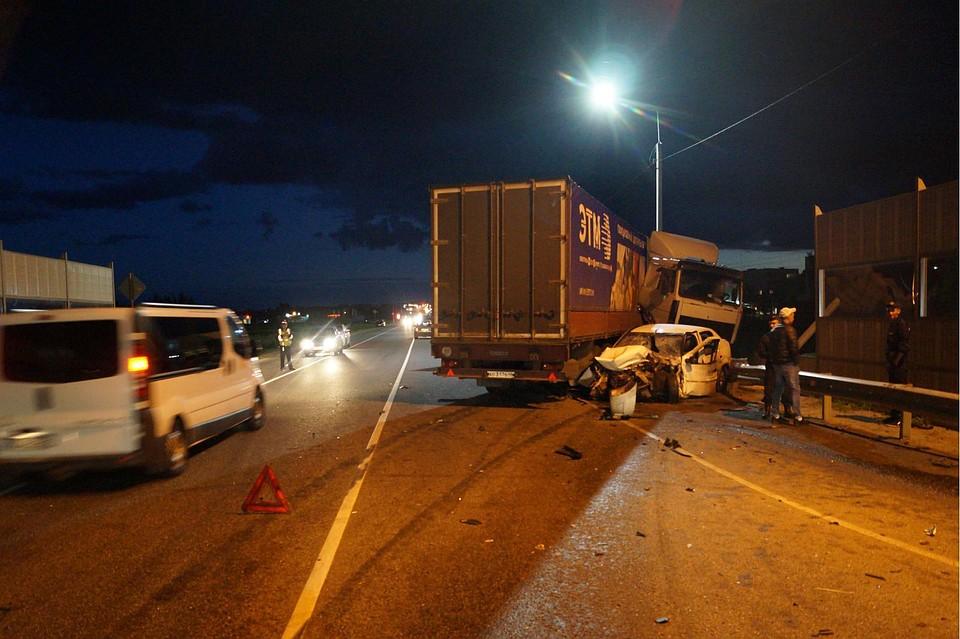 Встолкновении «МАЗа» илегковушки под Орлом погибла женщина-водитель