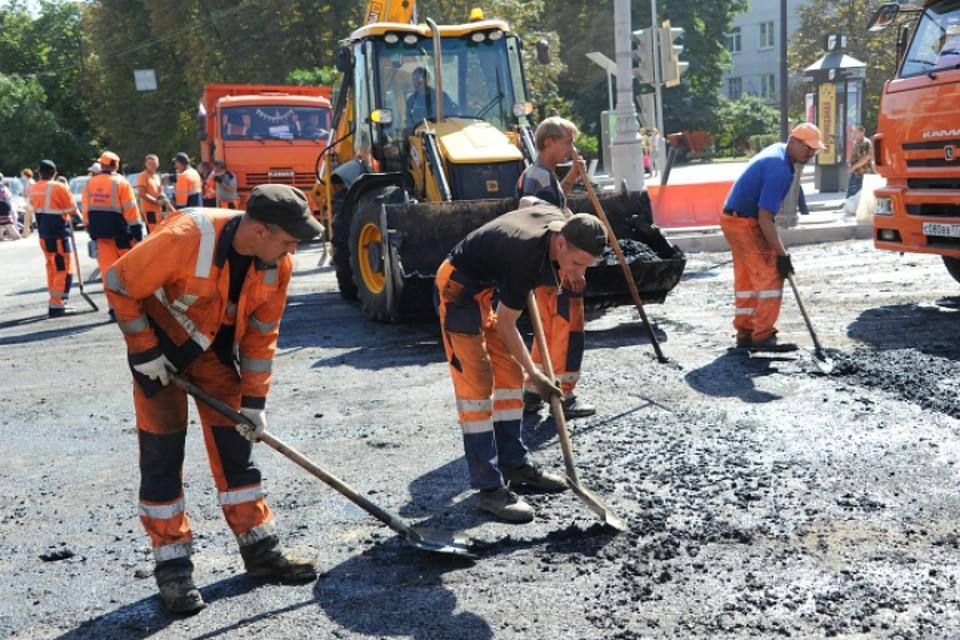 ВОмске преждевременно отремонтировали еще три дороги