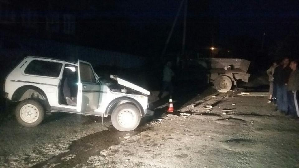 ВБашкирии вДТП один человек умер итрое пострадали