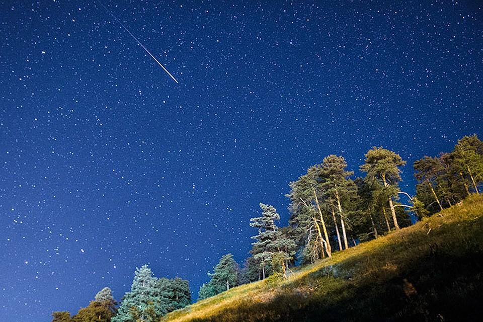 Вночь насубботу москвичи увидят июльский звездопад