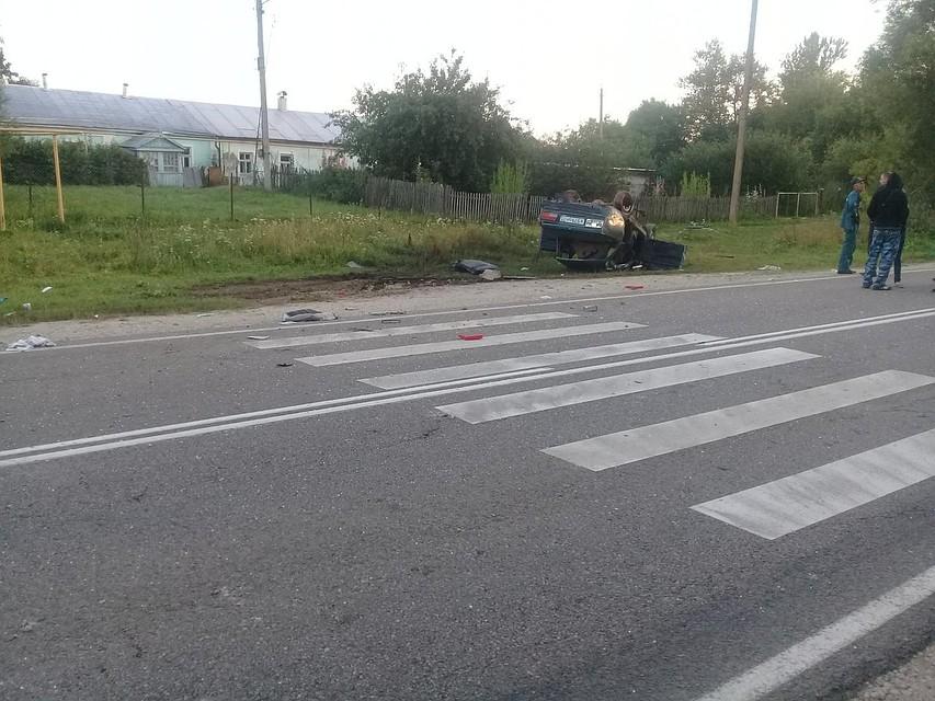 Нетрезвый шофёр идвое детей разбились вДТП вБелевском районе
