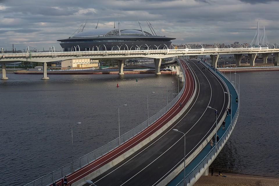 Строителям Петербурга недали президентский грант науже основанный Яхтенный мост