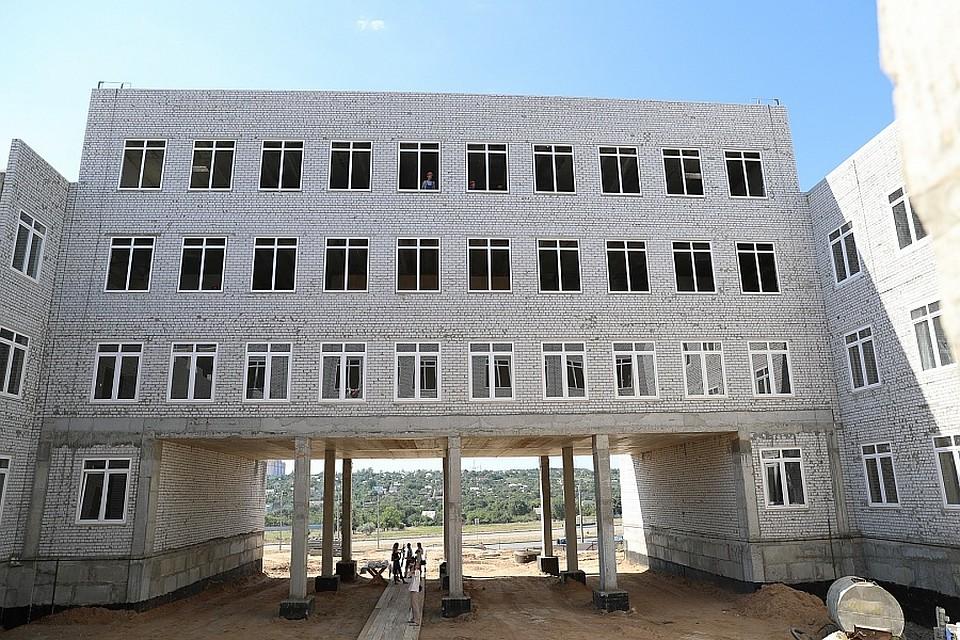 ВВолгограде к1сентября предстоящего года построят школу на тысяча мест