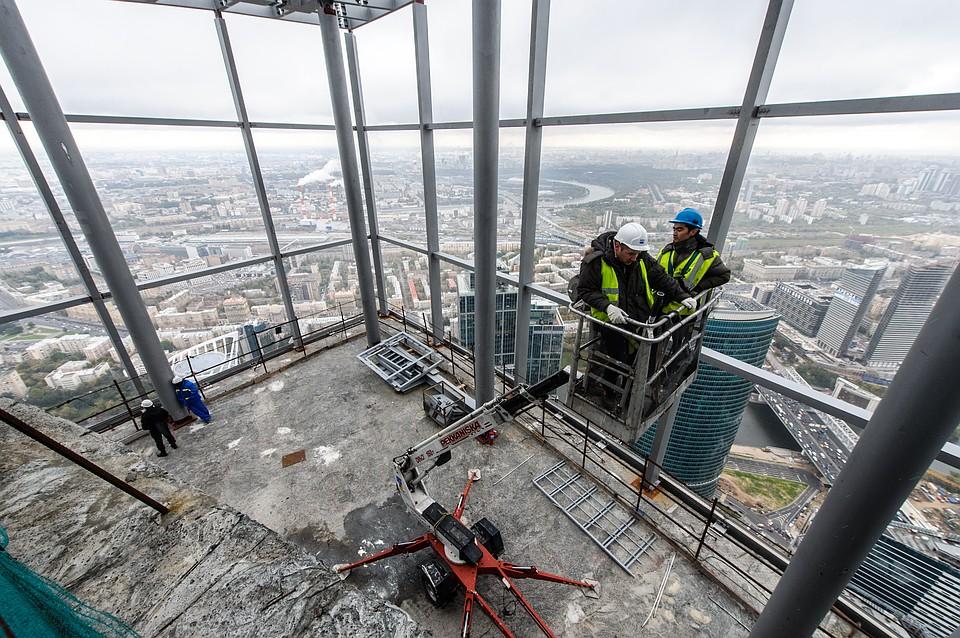 Самый высокий вевропейских странах жилой небоскреб в столице достроят вближайшие месяцы