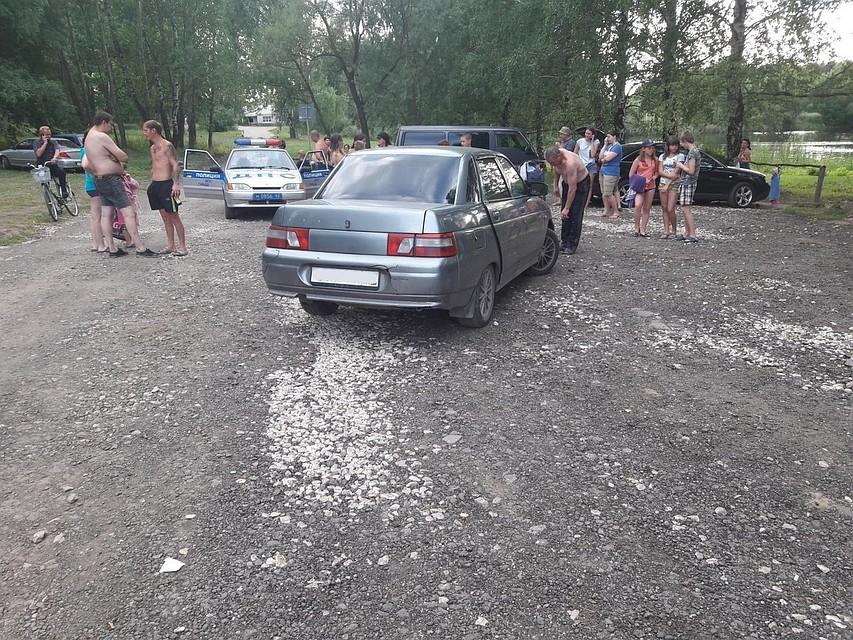 На береге под Рязанью «десятка» наехала на12-летнего ребенка